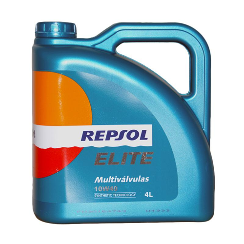 Repsol Multivalvulas 10W-40 Synthetic Technology Oli Pelumas  4 Liter