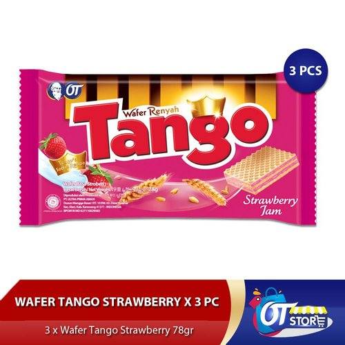 TANGO STRAWBERRY 78GR 1 KARTON ISI 36 PCS