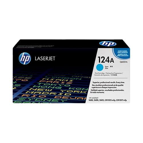 HP Toner Cartridge Original Q6001A Cyan