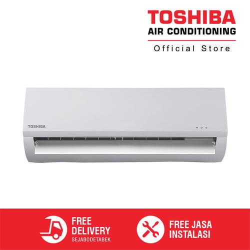 Toshiba AC 1 PK RAS-10BKS-ID + Jasa Instalasi AC