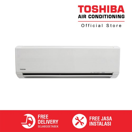 Toshiba AC 1 PK Thailand RAS-10S3KS-ID + Jasa Instalasi AC