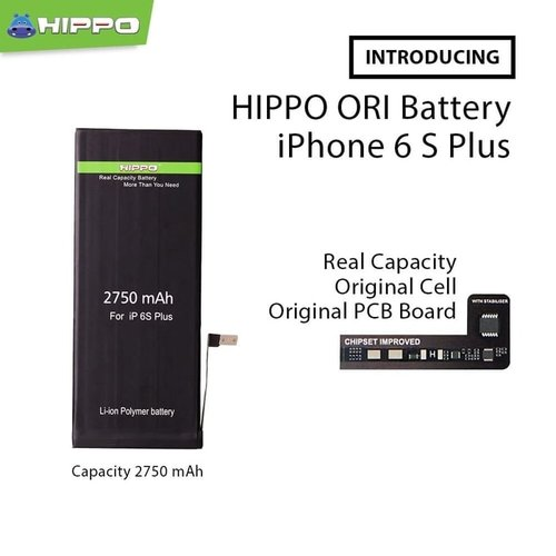 HIPPO IPHONE 6S+ 2750 MAH
