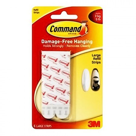 COMMAND Large Refill Strips @24pcs