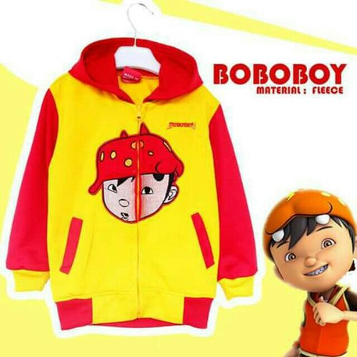 Jaket Anak Boboboy - Dafnazz - Size 7 Tahun