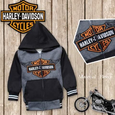 Jaket Anak Harley - Dafnazz - Size 4 Tahun