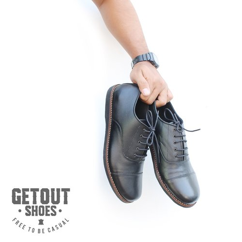 Getout Shoes 01 Vedder - Nappa Genuine Leather - Size 40