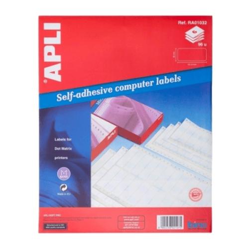 APLI Label Continuous Form 101.6 X 36MM RA01032 96 unit