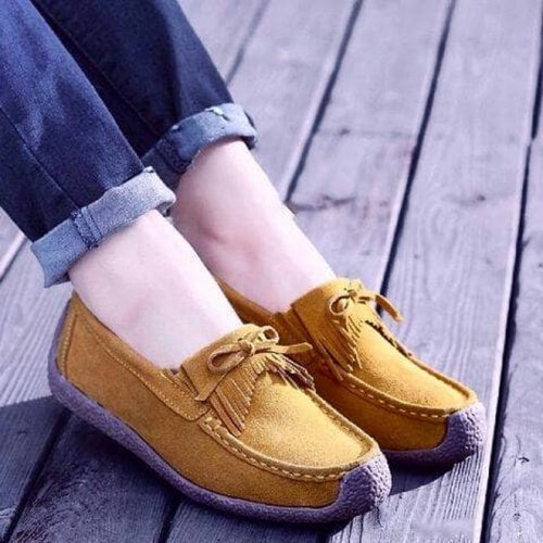 Flat Shoes PS02 Korean Style - TAN