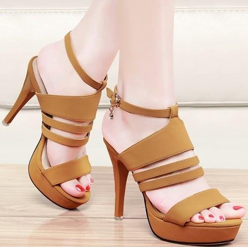 High Heels Aulia N503 - Tan