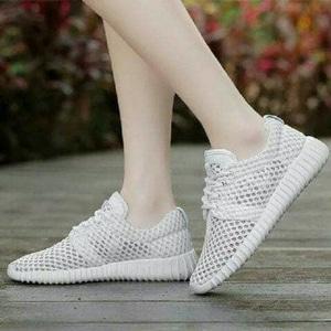 FASHION Sepatu Kets Jaring White
