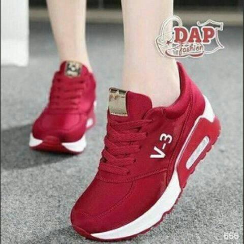Sepatu Kets V-3 Red