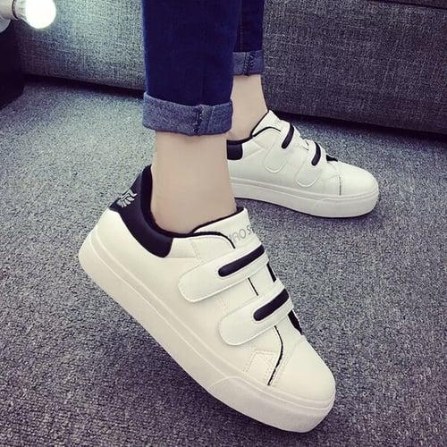 FASHION Sepatu Kets Velcro 222