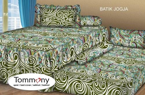 Sprei Sorong 2 in 1 motif Batik Jogja