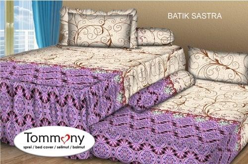 Sprei Sorong 2 in 1 motif Batik Sastra