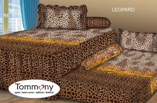 Sprei Sorong 2 in 1 motif Leopard