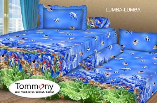 Sprei Sorong 2 in 1 motif Lumba Lumba
