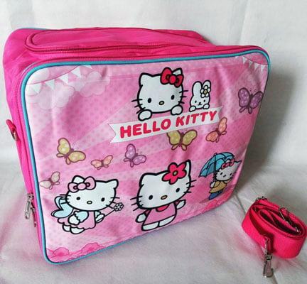 Baby Bag Organizer Karakter Hello Kitty Umbrella  Magenta 2 in 1