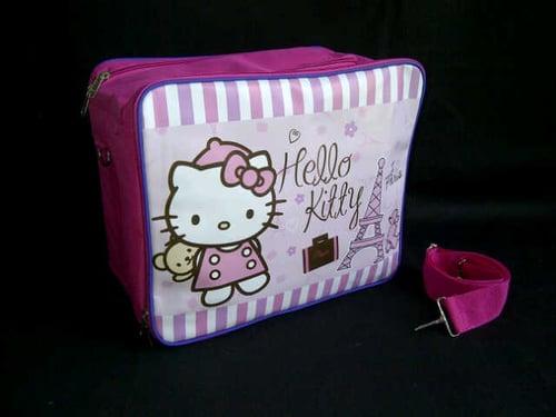 Baby Bag Organizer Karakter Hello Kitty Paris 2in1: selempang & ransel