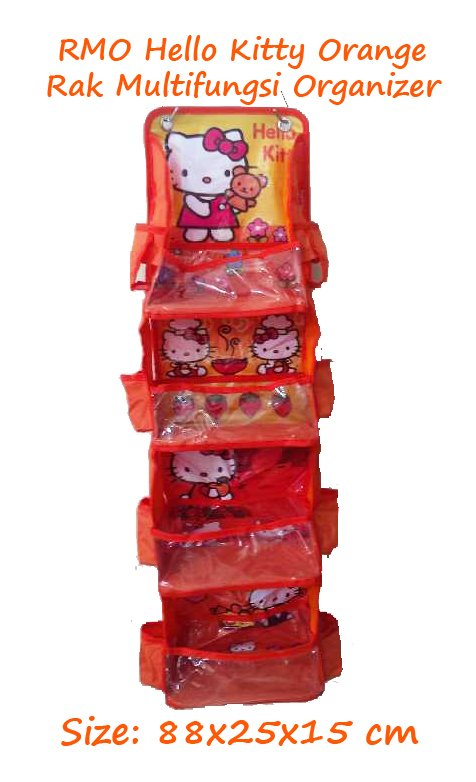 RMO Hello Kitty Orange (Rak Multifungsi Organizer) Karakter