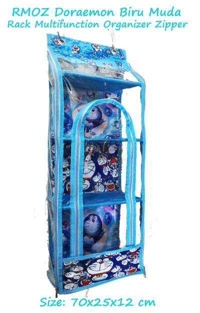 RMOZ Doraemon Biru muda (Rack Multifunction Organizer Zipper) Karakter