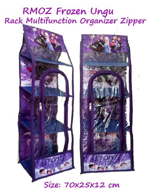 RMOZ Frozen Ungu (Rack Multifunction Organizer Zipper) RMO Karakter