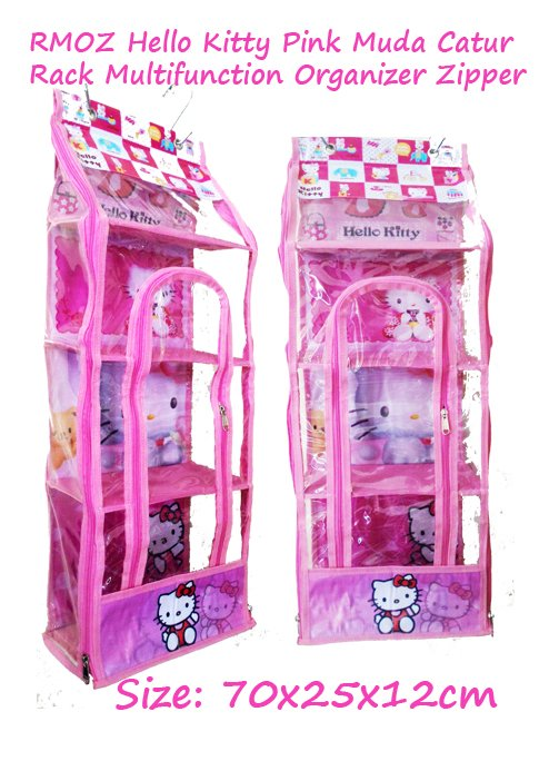 RMOZ Hello Kitty Pink (Rack Multifunction Organizer Zipper) Karakter