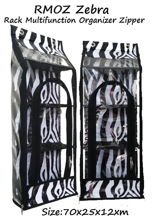 RMOZ Zebra (RMO Retsleting) Rak Multifungsi Organizer Zipper