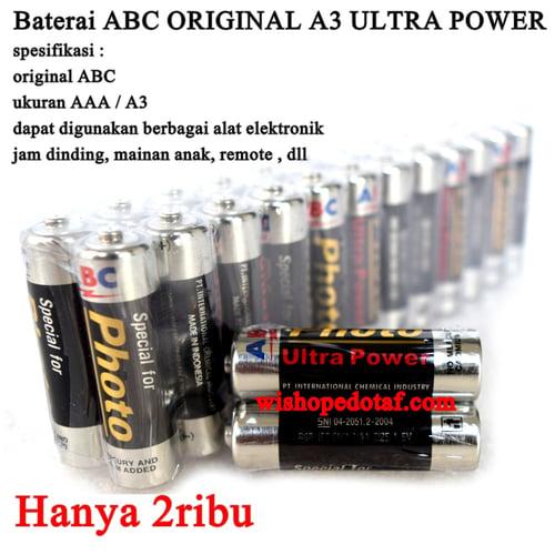 ABC Baterai Ultra Power