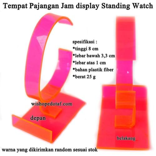 Tempat Pajangan Jam display Standing Watch
