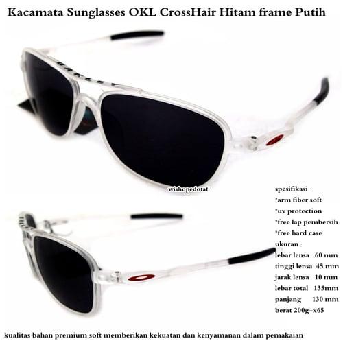 Kacamata Crosshair Baru Full Set Hitam Putih