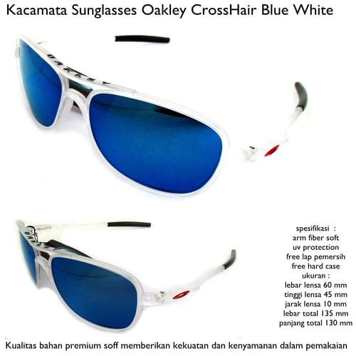 Kacamata  Crosshair Baru Full Set -  BLUE WHITE