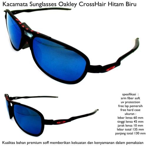 Kacamata Crosshair Baru Full Set Hitam Biru