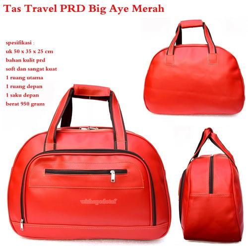 Tas Travel PRD Kulit Big Aye Merah