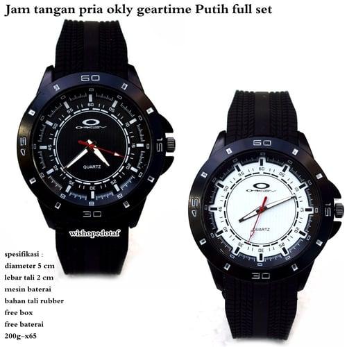 OAKLEY Jam Tangan Pria Geartime Full Set