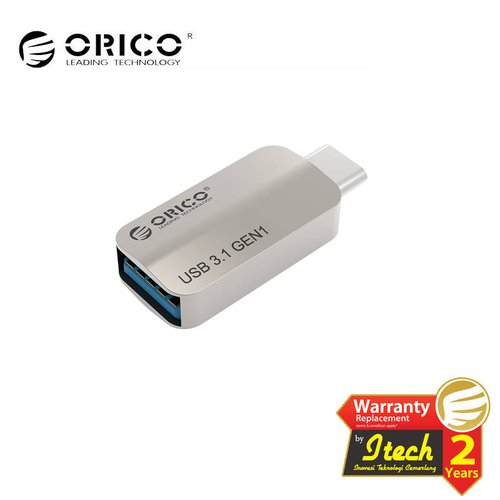 ORICO CTA2 Type-C to USB-A OTG Adapter - SILVER