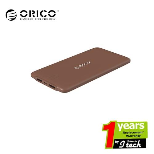 ORICO LD100 10000mAh Scharge Polymer Power Bank Coklat