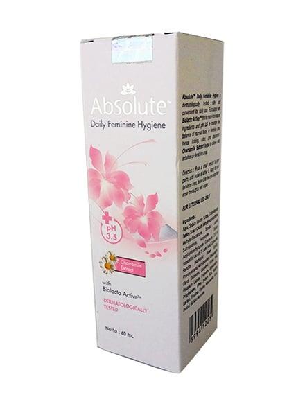 ABSOLUTE Daily Feminine Hygiene Wash 60ml