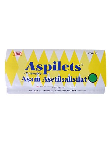Aspilet Cheweble 80 Mg Tab (1 Strip)