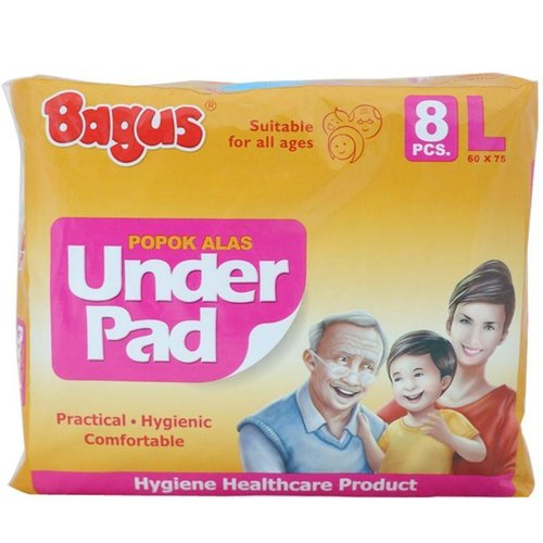 BAGUS Underpad Suitable for All Ages L Isi 8pcs