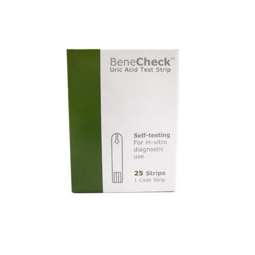 Benechek Uric Acid Tes Strip 25 Stp