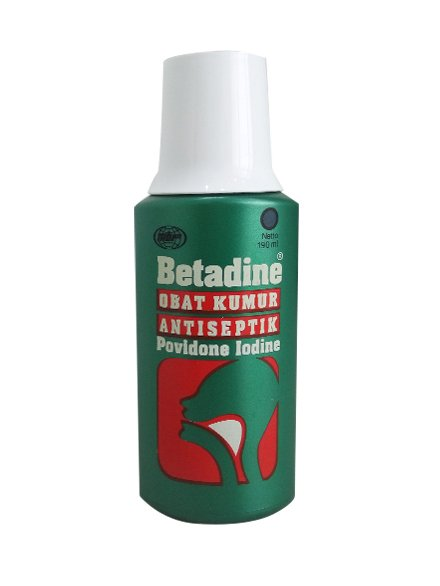 Betadine Gargle1% 100 Ml (2 Botol)