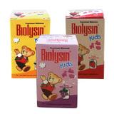 Biolysin Kids 30 Tablet - 3 Botol (Rasa Anggur, Jeruk, Strawberry)