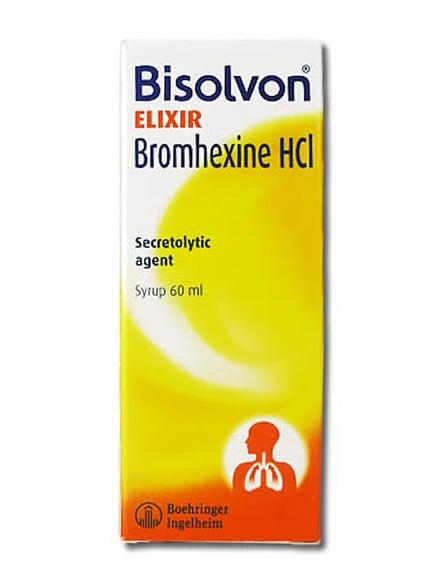 Bisolvon Elixir  60 ml