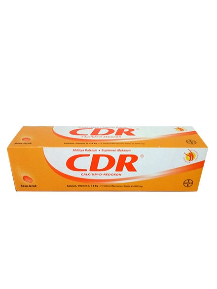 Cdr Eff Jeruk 15 Tablet