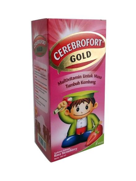 Cerebrofort Gold Straw/Jeruk 100 Ml