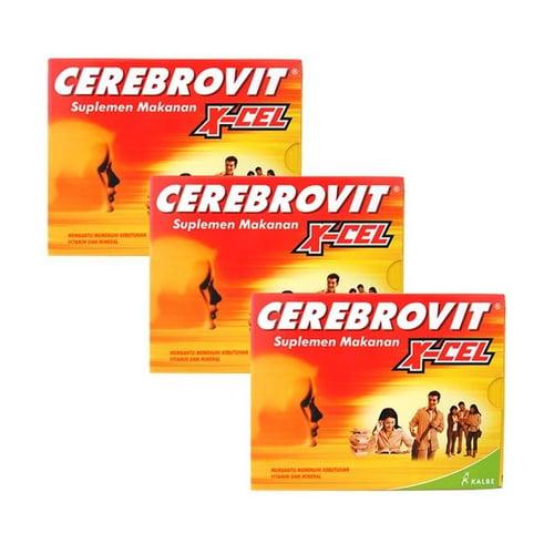 Cerebrovit Ginkol 10 Kapsul/3 Box