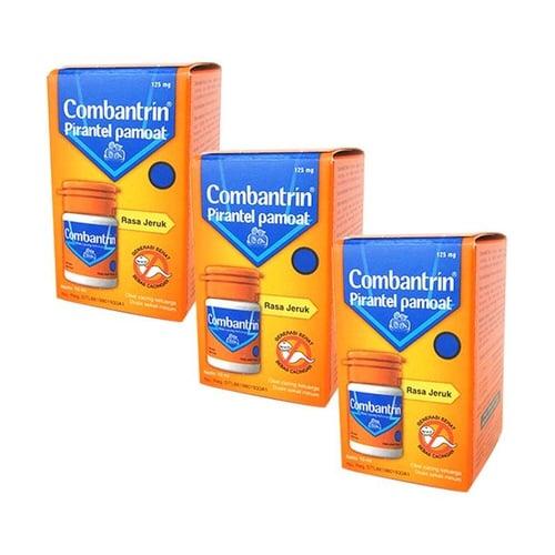 COMBANTRIN 125Mg/Ml Jeruk 10 Ml - 3 Botol