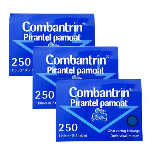 COMBANTRIN 250 Mg - 3 Strip