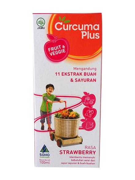 CURCUMA Plus Frt&Vg Strawberry 100 Ml