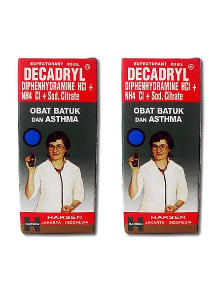 DECADRYL Expec  Syr 60 Ml (2 Botol)